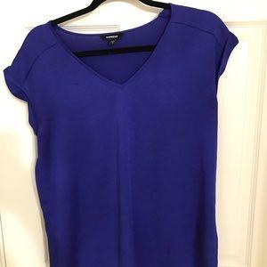 Express Gramercy royal blue blouse size S